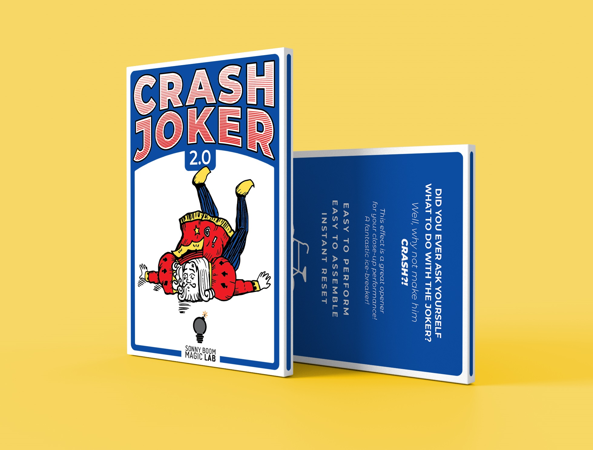 Our first new product is out: CRASK JOKER 2.0