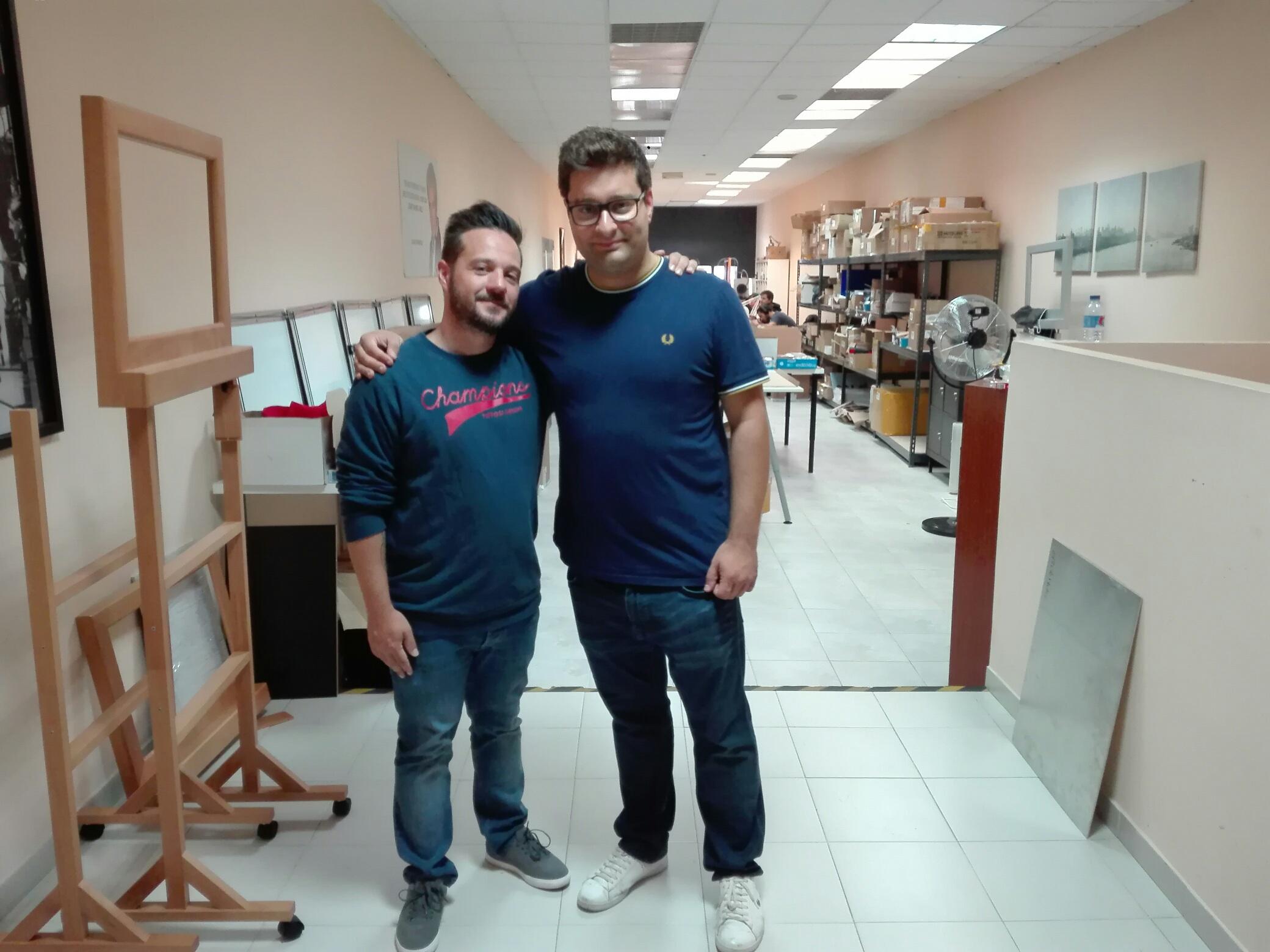 Visiting João Miranda