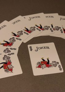 Pack of 10 CRASH JOKER CARDS