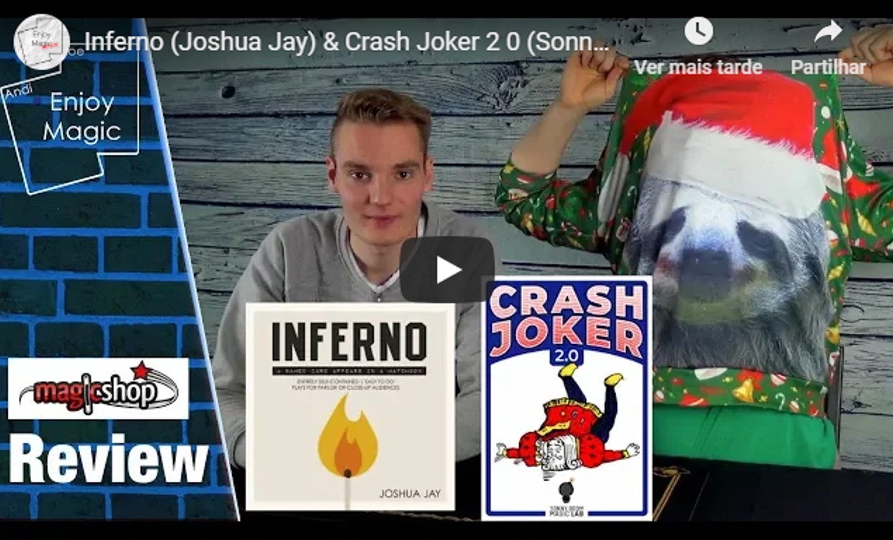 Review of CRASH JOKER 2.0 by ENJOY MAGIC